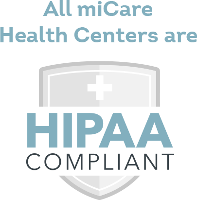 All miCare Health Centers are HIPAA Compliant
